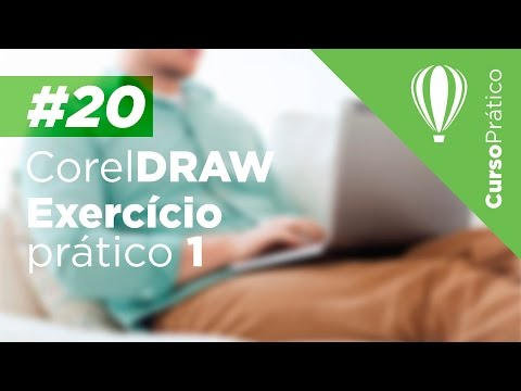 Curso prático de Design Gráfico #20 - CorelDRAW - Exercício prático 1