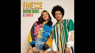 Download Lagu Bruno Mars - Finesse (Remix) [Feat. Cardi B] (Official Instrumental) Gratis STAFABAND