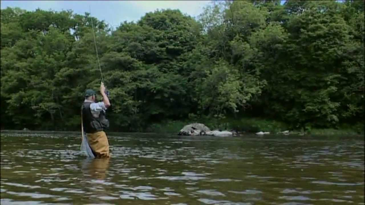 Born to fish fly fishing river wye youtube for Missouri out of state fishing license