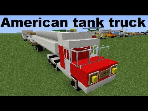 How To Build A Fire Truck In Minecraft