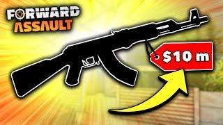 The MOST EXPENSIVE CUSTOM Gun Skin in Forward Assault!!