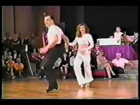 Mark 'The Marine' Scheuffele & Laura Smith - 1996 US Open Showcase Division - WCS