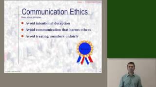 CO210 - Communication ethics