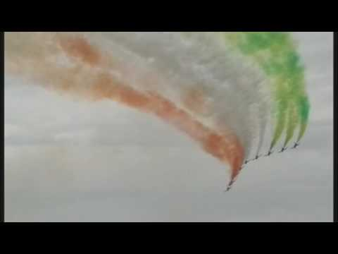An Excellent display by the Italian Air Force at RAF Fairford base on the