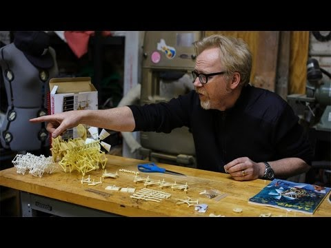 Adam Savage's One Day Builds: Strandbeest Model Kit