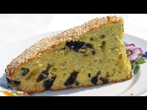 Нежный пирог с ягодами рецепт