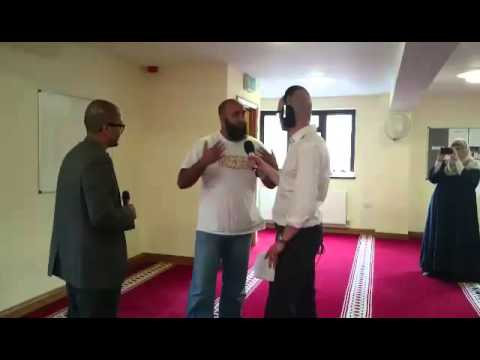 BBC Radio Wales live broadcast of Adhan and Quran