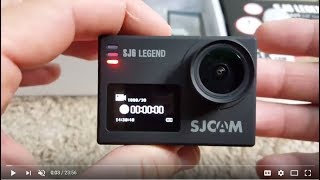 "Full Review SJCAM SJ6 LEGEND Dual Screen 2"" LCD Touch Screen ACO"