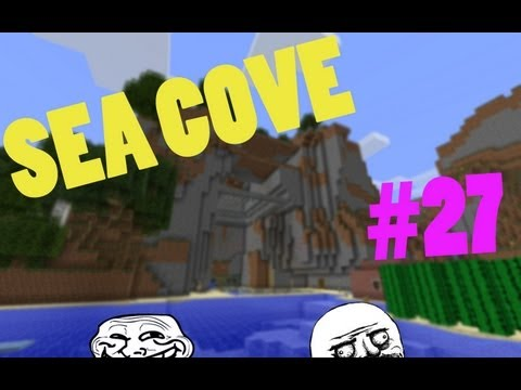 Minecraft: Sea Cove - Part 27 | OMFG CATS!!1