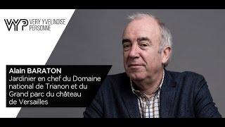 VYP  Alain Baraton Jardinier en chef du chteau de