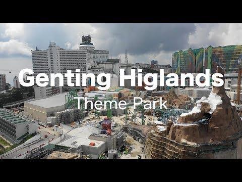 Genting Highlands Theme Park - Progress as 27 Sept 2018