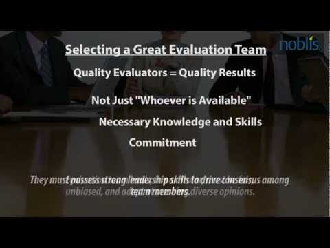 Noblis Acquisition Excellence - Selecting An Evaluation Team