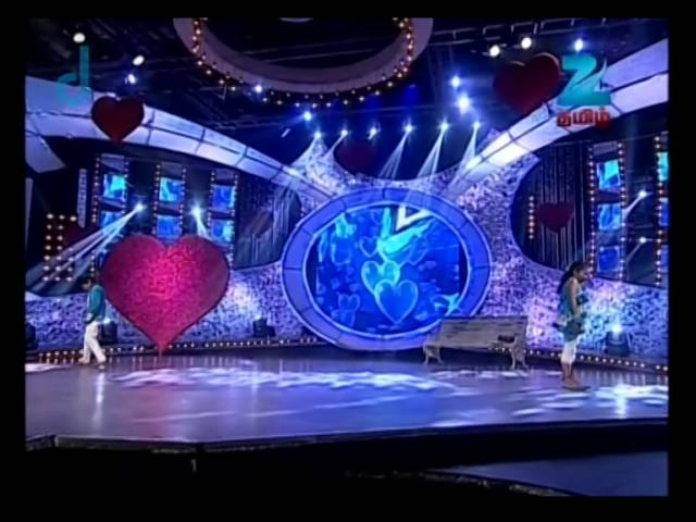 Dance Tamizha Dance Little Masters - Episode 13 - August 30, 2014 - Aatheesh and Bhaviya Performance
