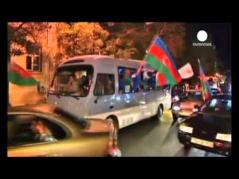 Azerbaijan's Ilham Aliyev claims election victory