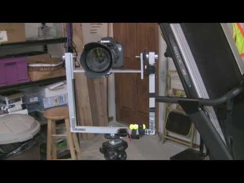 DIY Pan Tilt Head and Canon 7D Viewfinder - Motorized Remote Control