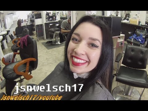 Womens scissor haircut ✂ How to trim women's long hair ✂ Womens hairstyles ✂ Tutorial for Barbers