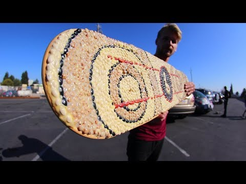SUPER AWESOME BEAN GRIPTAPE! | YOU MAKE IT WE SKATE IT EP 157