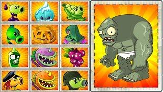 Every Plant vs Gargantuar Egypt Plants vs Zombies 2 New Power UPGameplay
