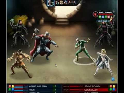Marvel Avengers Alliance Best PVP Team And Weapons
