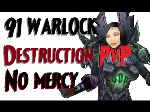 Dommedag - Level 91 Destruction Warlock Twink Pvp - Wod Patch 6.0.3 video