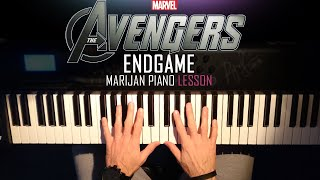 How To Play: Avengers - Endgame (Official Trailer 2 Music) | Piano Tutorial Lesson + Sheets