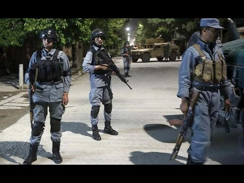 Afghanistan conflict Taliban targets Kabul guesthouse