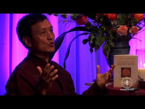 Tenzin Wangyal Rinpoche at Wanderlust Festival's Speakeasy - Whistler 2012