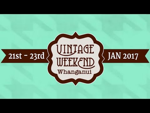 Vintage Weekend Whanganui 2017