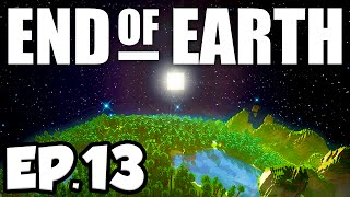 End of Earth: Minecraft Modded Survival Ep.13 - BUILDING A BASE!!! (Steve