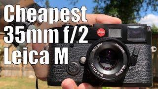 7Artisans 35mm f/2   Leica M6   Kodak GC UltraMax 400