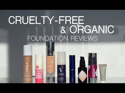 9 Best Cruelty-Free. Vegan & Organic Foundation Reviews and Testing!