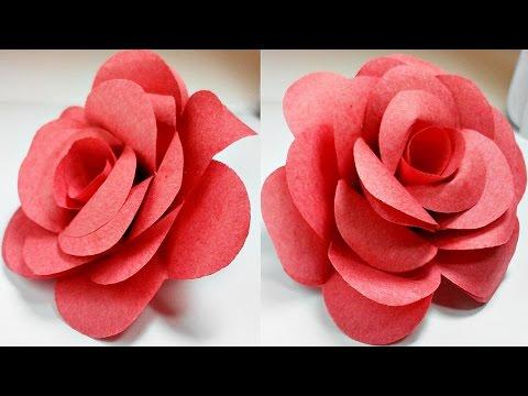 make a paper rose