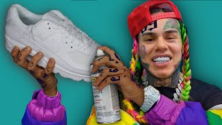 Surprising 6ix9ine with Custom Shoes!! ( ft. 6ix9ine ) -kinda