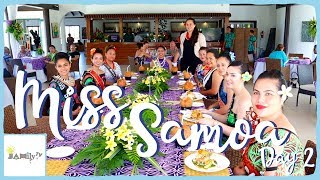 MISS SAMOA LUNCHEON AT AMOA RESORT | ALISHA TO SAVAII | SAMOAN VLOG | Episode 64