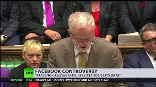 """Annie Machon: """"Facebook has allowed it and its data to be used"""""""