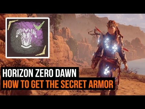 Horizon Zero Dawn: How To Get The Secret Armor (Shield Weaver Armor)