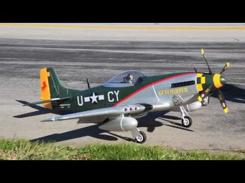 P-51 Mustang RC Warbird Flight Review in HD!