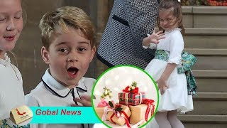 Why does Kate prohibit Princess Charlotte, George and Louis from opening gifts on Christmas Day?