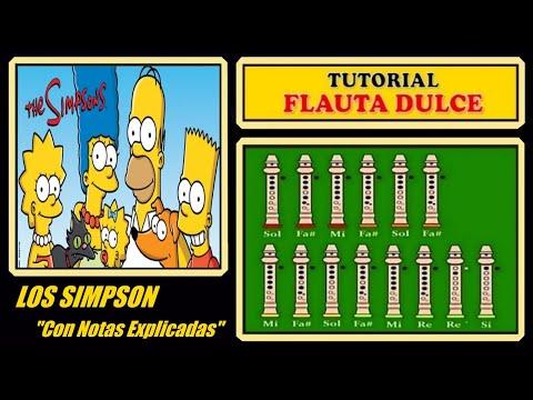 Los Simpsons en Flauta