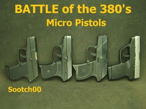 Battle of the 380 Micro Pistols