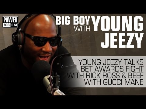 Young Jeezy talks BET Awards fight with Rick Ross and beef with Gucci Mane