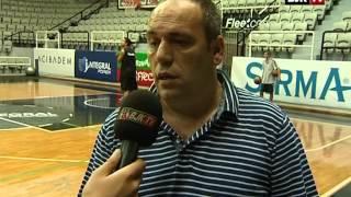 Beşiktaş Integral Forex Basketbol Takımı Antrenman ve Röportaj