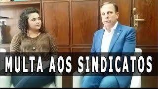 ENTREVISTA COMPLETA - João Doria fala sobre tudo o que aconteceu no dia da Greve Geral no Brasil