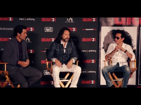 Marc Anthony - Chayanne - Marco Antonio Solis - Gigantes