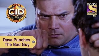 Your Favorite Character | Daya Punches The Bad Guy | CID