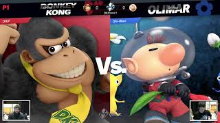 Summer Shieldbreak - Oli-Wan (Olimar) vs DKPhil (Donkey Kong) - [W] Round 1