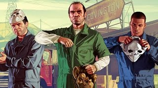 Grand Theft Auto 5 - Начало игры (PS4)