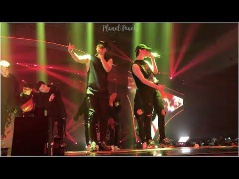 180630 GOT7 - From Now + Hunger + Phoenix (Jackson & Yugyeom Solo, Unit)  @ Eyes On You In Jakarta