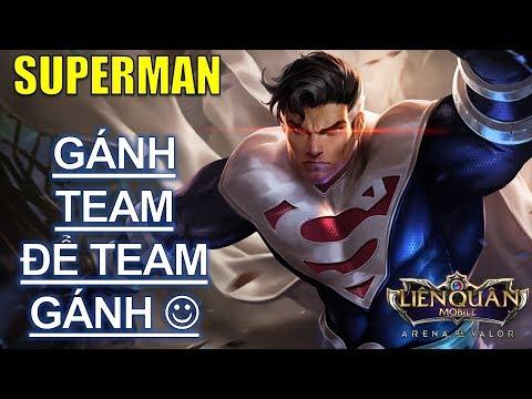 Siêu anh hùng SUPERMAN leo rank phiên bản giáng sinh phải gánh team thì team mới gánh lại thumbnail