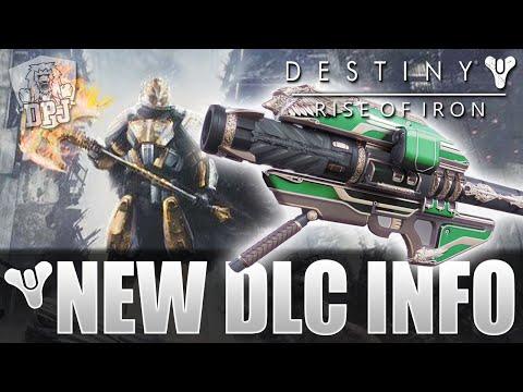 Destiny: Rise Of Iron DLC Expansion - New INFORMATION / Year 3 Gjallarhorn? Battle Of Twilight Gap!